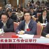 全省金融工作会议举行